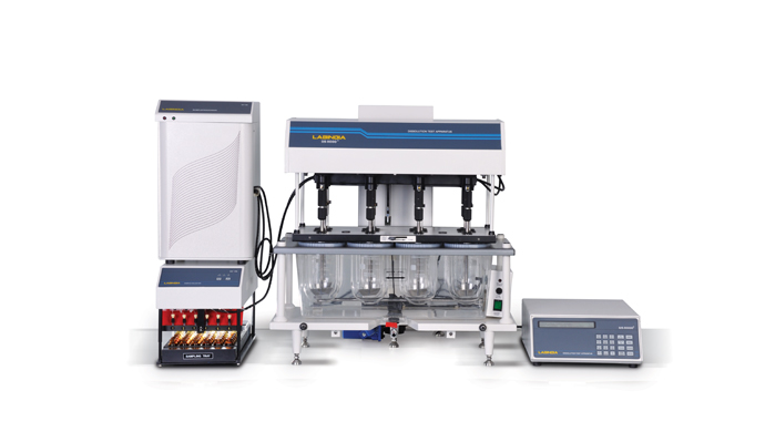 Tablet Dissolution System DS 8000 with Syringe Pump